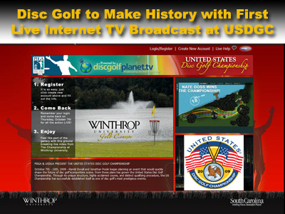 Watch the 2009 USDGC online!